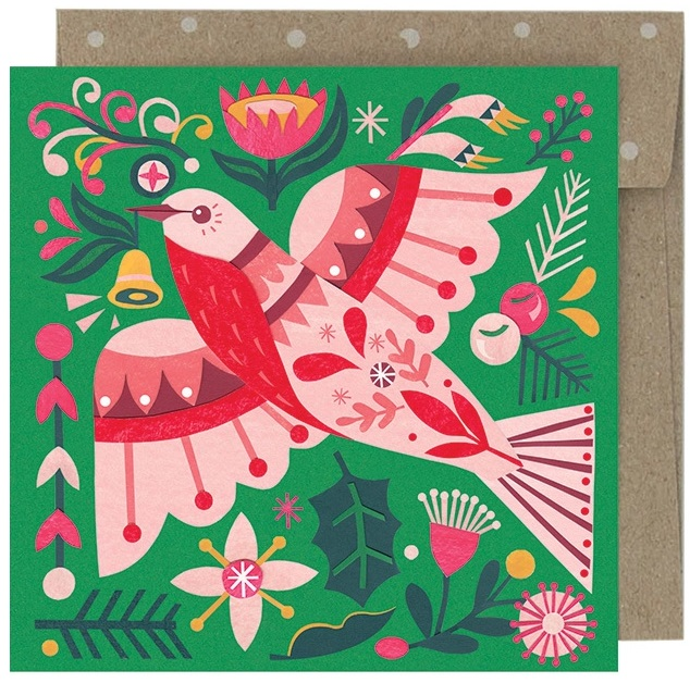Christmas Card Pack - Flame Robin $14.00