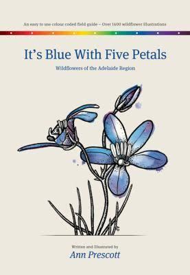 It's Blue with Five Petals