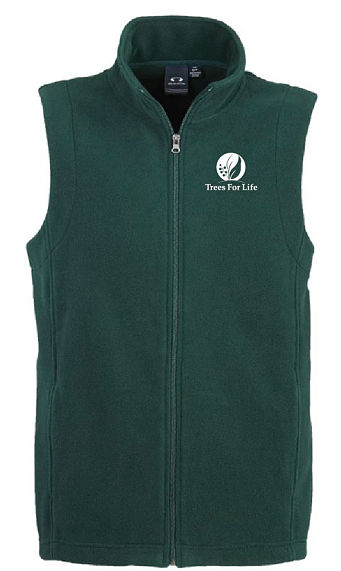 Men's Fleece Vest - Size Large